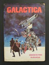 1979 Universal BATTLESTAR GALACTICA TRADING CARDS ALBUM complete Unusual GD cnd.