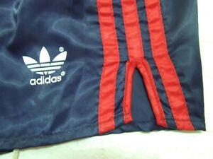 Shorts adidas Nylon Sprinter Shiny Shorts Glanz Hose 626 Vintage 70'S D6
