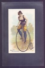 More details for w duke sons & co bicycle and trick riders riding the ordinary 1891    (ra2)