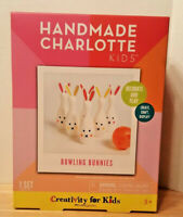 NEW Handmade Charlotte Bowling Bunnies Craft Kit - Fun for Easter!