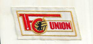 Aufnäher  1. FC UNION BERLIN  Fussball DDR