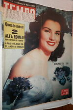 Time 28 March 1953 Debra Paget question Trieste Clara Boothe Light Bergman and