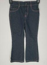 Harley Davidson Girls Toddler Boot Cut Jeans size 4T color Dark Denim Blue Wash