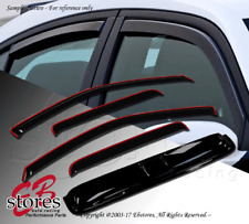 Vent Shade In-Channel Window Visor Sunroof Type 2 5pc Ford Contour 1995-2000