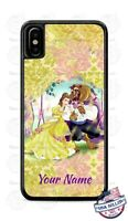 Disney Beauty and the Beast Animated Phone Case Cover For iPhone Samsung Google