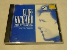 Cliff Richard The Interview CD {Tim Rice in conversation with Cliff Richard}
