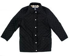 Burberry women quilted nova chek jacket eu36 us4 uk8 size S Black