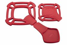 Zyliss Small Silicone Red Trivet Pad with Built in Spoon Rest Kitchen Accessory