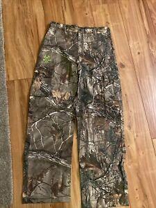Real Tree Xtra Camo  Pants Youth Boys Size XXL(18) Adjustable Waist NEW