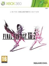 Final Fantasy XIII-2 Limited Collector's Edition Xbox 360 * NEW SEALED PAL *