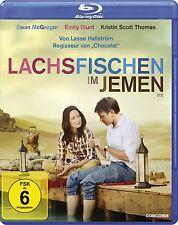 LACHSFISCHEN IM JEMEN (Ewan McGregor, Emily Blunt) Blu-ray Disc NEU+OVP