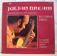 """33T JULIAN BREAM Vinyl LP 12"""" GRANDS CLASSIQUES DE LA GUITARE Vol.2 - RCA 42079"""
