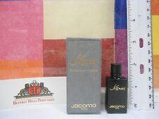 VINTAGE OLD FORMULA SILENCES BY JACOMO PARFUM DE TOILETTE .83 OZ / 2.5 ML MINI