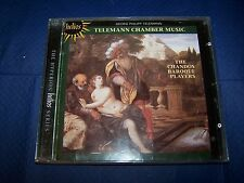 GEORG PHILLIPP TELEMANN CHAMBER MUSIC CHANDOS BAROQUE PLAYERS CD ALBUM HELIOS
