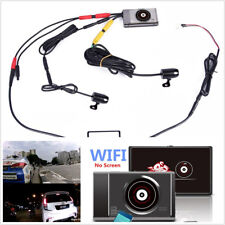 140° Wide Angle Full Hd 1080P+720P Wifi Motorcycles Dvr Video Recorder Dash Cam