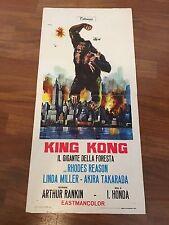 LOCANDINA,S/9  King Kong Il gigante della foresta, Ishiro Honda, Takarada sci fi