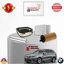 KIT TAGLIANDO FILTRI BMW X3 F25 18 D 105KW 143CV DAL 2012 ->