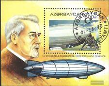 Aserbaidschan Block14 (kompl.Ausg.) gestempelt 1995 Ballons und Luftschiffe