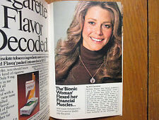 May 8, 1976 TV Guide  (LINDSAY  WAGNER/THE   BIONIC  WOMAN/TOM   SNYDER)