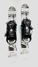 Snowblades, 90cm FiveForty WIDE Ski Blades, M8trix bindings