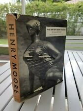 THE ART OF HENRY MOORE 1960 BY WILL GROHMANN 1960 SIGNED BY HENRY MOORE