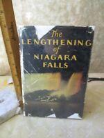 The LENGTHENING of NIAGARA FALLS,C.1930's,Power Service,Illustrated, DJ