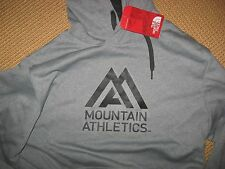 NWT*MENS NORTHFACE PERFORMANCE HOODIE - HEATHER GRAY MENS XL