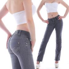 Jeans da donna basse grigio taglia 42