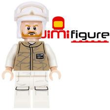 NEW LEGO Minifigure Hoth Rebel Trooper Star Wars 75098 Genuine Dark Tan Beard