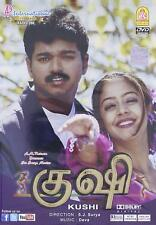 KUSHI (VIJAY, JYOTHIKA) - TAMIL INDIAN DVD