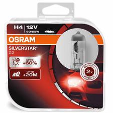 OSRAM h4 SILVERSTAR 2.0 60% in più di luce SILVER STAR 2er Set 64193sv2-hcb