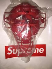 Supreme Rawlings Catchers Mask Red New 100% Authentic !