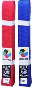 Tokaido WKF Karate Belt - 2 colors!