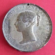 1838 Medalla de la reina Victoria coronación 53 Mm-por Davis
