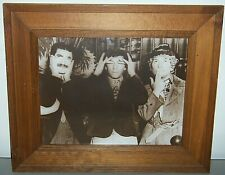 RARE WINDSOR ART PRODUCTS MARX BROTHERS SEE-HEAR-SPEAK FRAMED WALL ART PICTURE
