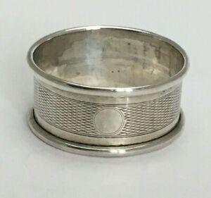 Antique Sterling Silver Serviette Napkin Ring 1922