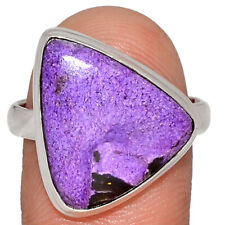 Purpurite 925 Sterling Silver Ring Jewelry s.10 AR164114