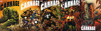 ABSOLUTE CARNAGE #1,2,3,4,5 KYLE HOTZ CONNECTING VARIANT COMIC SET ~ Marvel