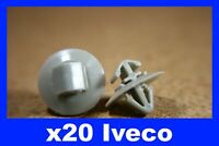 For Iveco  door card trim panel fitting moulding fastener clips
