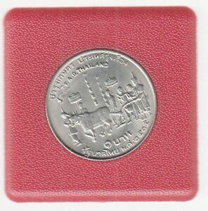 Thaïlande 1 Baht 1972 Fao Pièce de Monnaie