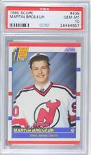 1990-91 Score Martin Brodeur #439 PSA 10 Rookie HOF