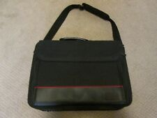 Targus Black & Red Nylon Laptop Computer bag - Previously Owned