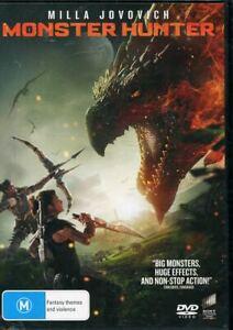 Monster Hunter DVD NEW Region 4 Milla Jovovich