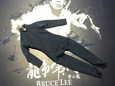 Hot Toys 1/6 DX04 Bruce Lee Black JUMPSUIT Body IP man Shoe Clothing