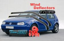 VW GOLF MK4 IV 1997 - 2004 5D  Wind deflectors 2.pc  HEKO 31125  for FRONT DOORS