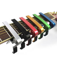 Advanced Guitar Capo Quick Change Tune Clamp Acoustic Electric Classic Guitar RA
