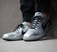 Nike Men's NSW TIEMPO '94 DLX QS Shoes  779519-001 Metallic Silver UK 7.5 US 8.5