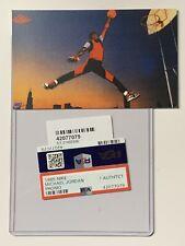 Michael Jordan/1985 Iconic Nike Air Promo RC/PSA **Reprint**