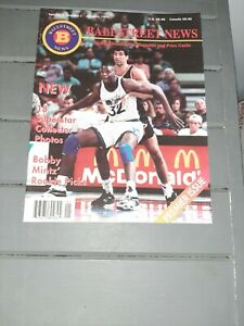 BALLSTREET NEWS Volume 1, number 1 1993 Complete w/ TRADING CARD Insert MAGAZINE