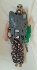 "ACTION MAN - Dr X With Armour 12"" Action Figure Toy Hasbro 1998 Military Toy"